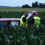 Pościg zakończony w kukurydzy. Uciekający to dilerzy?