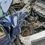 Wypadek w Czarnymlesie. BMW vs. Citroen