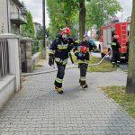 Pożar domu przy ul. Grabowskiej
