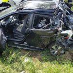 Dwa śmigłowce LPR interweniowały przy wypadku. Ranna 9-latka