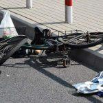 Potrącenie rowerzystek, pożar Seicento