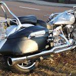 Wypadek motocyklisty w Topoli Wlk.