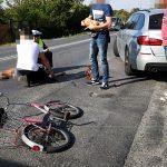 BMW potrąciło rowerzystkę na Wrocławskiej