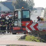 Uszkodzili gazociąg w Wysocku. Ewakuacja mieszkańców