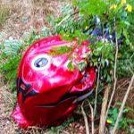 Wypadek motocyklisty i Citroena k. Antonina