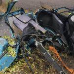 Opel uderzył w drzewo. Niestety mężczyzna zmarł