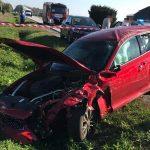 Zderzenie 3 aut w Łąkocinach