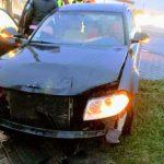 Ociąż: zderzenie BMW i Volkswagena