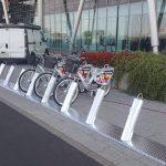 Rower Miejski – stacja przy galerii