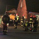 Pożar w domku przy ul. Grabowskiej