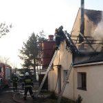 Pożar w Szczurawicach. Zadysponowano 8 zastępów