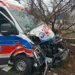 Wideo z wypadku ostrowskiej karetki