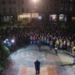 Ostrowianie pożegnali Adamowicza na Rynku