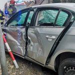 Zderzenie 3 aut. 1 osoba ranna
