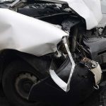 Zderzenie trzech aut na trasie Ostrów – Tarchały