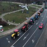 Protest rolników. Traktory wjechały do Ostrowa