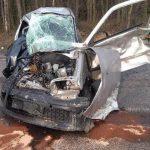 Mężczyzna z Seicento zginął po zderzeniu z dwiema ciężarówkami