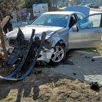 Zderzenie Renault i Mercedes. Gorzycka i Traugutta