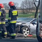 Zderzenie 3 aut w Górznie