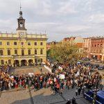Protest nauczycieli na ostrowskim Rynku (galeria)