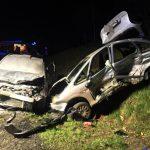 Wypadek koło ronda w Strugach na DK11 (aktualizacja nr 2)