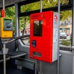Biletomaty w autobusach MZK