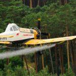Chemiczne opryski i zakaz wstępu do lasu