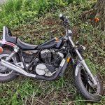 Motocyklista rozbił się w trakcie pościgu