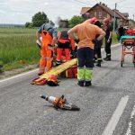Ciężarówka potrąciła robotnika w Łąkocinach – aktualizacja
