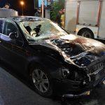 Śmiertelne potrącenie na DK11 przez Audi (aktualizacja)