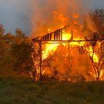 Pożar budynku w Raczycach