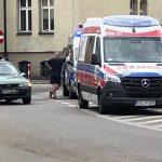 Rowerzystka potrącona na Placu Rowińskiego
