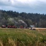 Pożar w Bogufałowie. W akcji 8 wozów i samolot