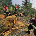 Strażacy prawie zginęli w trakcie nawałnicy
