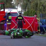 Zginął 20-letni motocyklista (monitoring)