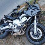 Wypadek motocyklisty na Limanowskiego (aktualizacja)