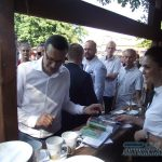 Tłum na spotkaniu z premierem Morawieckim