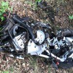 Wypadek śmiertelny – dwóch motocyklistów zderzyło się z ciężarówką