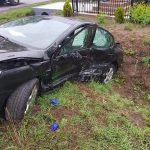 6 osób rannych po zderzeniu 2 aut w Szczurach