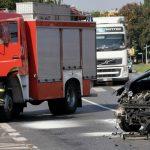 Iveco vs. Peugeot na Kr. Jadwigi i Al. Słowackiego