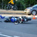 Wypadek z motorowerem na POS