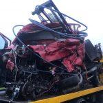 Kierowcy wyrwało serce. 2 osoby zginęły na DK11 w Sobótce (aktualizacja + FOTO)