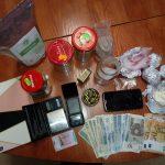 Narkotyki i amunicja przechwycone przez policję