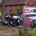 Zmarło 4-miesięczne dziecko ranne w wypadku