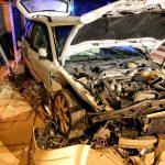Ukrainiec uciekał bez butów po wypadku