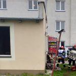 Zadymienie w budynku przy ul. Zielonej. Jedna osoba poszkodowana