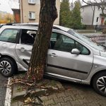 BMW skasował Peugeota. Auto samo powiadomiło o zdarzeniu