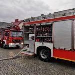 Strażacy znowu interweniowali na ul. Zielonej