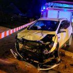 Zderzenie Renault i Forda w Raszkowie