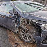 Kurier nie dojechał, bo uderzył w Hyundaia
